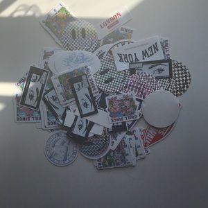 Brandy melville sticker bundle!